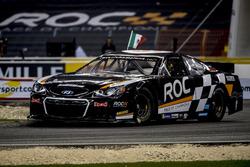 Memo Rojas of Team Mexico driving the Whelen NASCAR