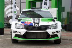 La Skoda Fabia R5 di Martin Koči, Skoda Slovakia Motorsport