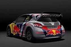 Автомобиль Peugeot 208 WRX Тимми Хансена, Team Peugeot Total
