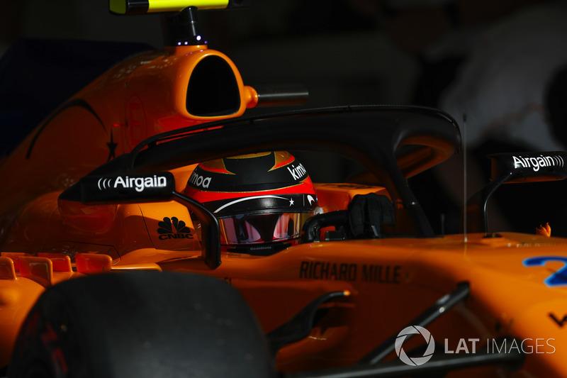 8. Stoffel Vandoorne, McLaren MCL33 Renault