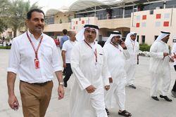Il principe ereditario Sceicco Salman bin Hamad Al Khalifa