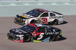 Кейси Кейн, Hendrick Motorsports Chevrolet и Райан Ньюман, Richard Childress Racing Chevrolet