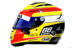 Il casco di Rio Haryanto, Manor Racing