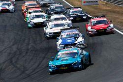 Start action, Gary Paffett, Mercedes-AMG Team HWA, Mercedes-AMG C63 DTM lead