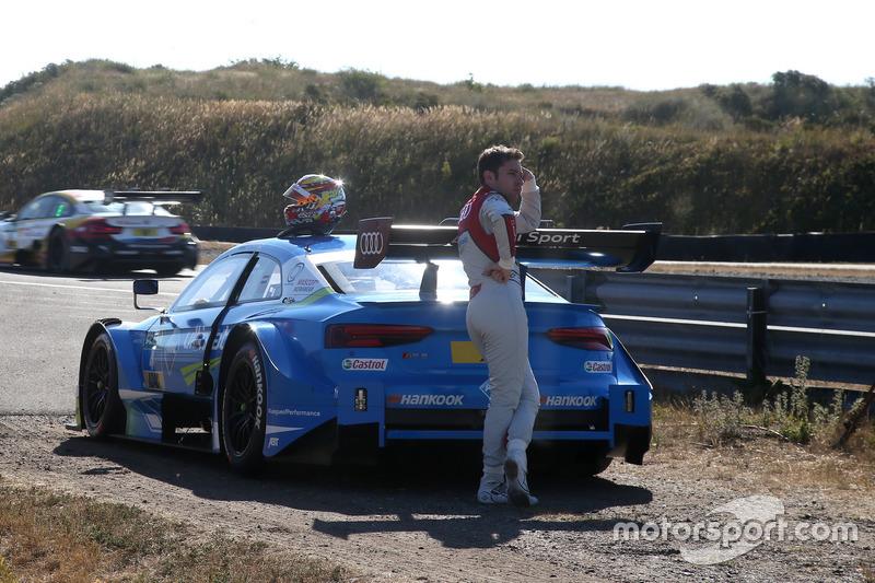 DNF Robin Frijns, Audi Sport Team Abt Sportsline