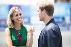 Nicki Shields con Nico Rosberg
