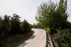 La antigua peraltada de Monza