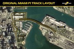 Original Miami F1 track layout