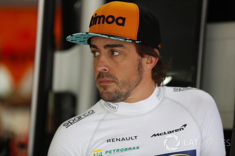 Fernando Alonso, ex-piloto da Ferrari