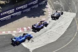 Ed Jones, Chip Ganassi Racing Honda, Alexander Rossi, Andretti Autosport Honda, Josef Newgarden, Team Penske Chevrolet