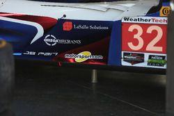 The car of #32 United Autosports Ligier LMP2: Will Owen, Hugo de Sadeleer, Paul Di Resta, Bruno Senn
