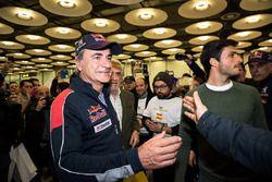 Carlos Sainz, Peugeot Sport ve oğlu Carlos Sainz Jr.