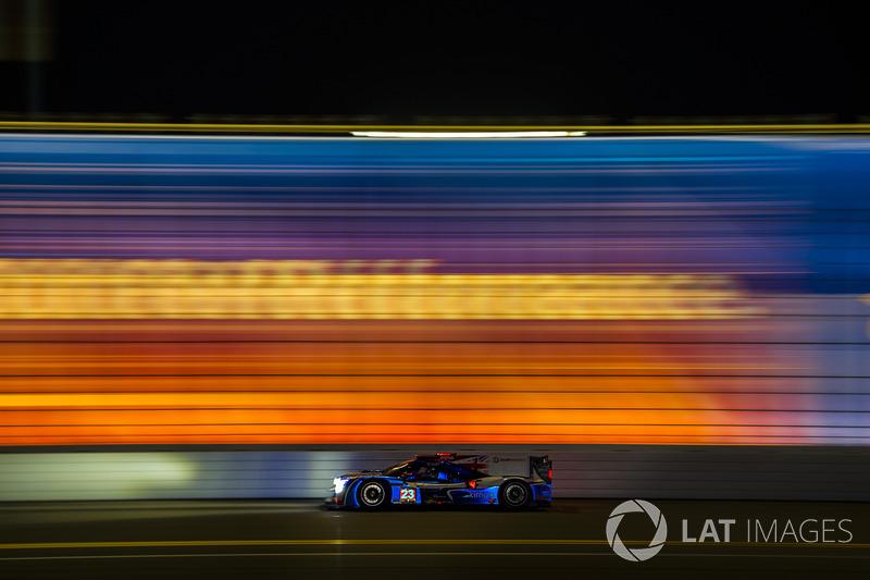 3. #23 United Autosports Ligier LMP2: Phil Hanson, Lando Norris, Fernando Alonso