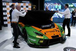 Orange1 GRT team launch at Lamborghini Museum