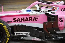 Nicholas Latifi, Force India VJM11 : déflecteurs