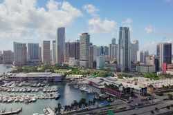 Miami: Biscayne Bay und Downtown
