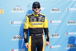 Ryan Blaney, Team Penske, Ford Fusion Menards/Duracell pole award