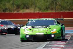 #19 GRT Grasser Racing Team Lamborghini Huracan GT3: Ezequiel Perez Companc, Raffaelle Gianmaria, Ma