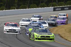 Austin Cindric, Team Penske, Ford Mustang Fitzgerald Glider Kits and Kaz Grala, Fury Race Cars LLC, Ford Mustang NETTTS