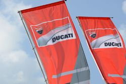 Ducati Team flags