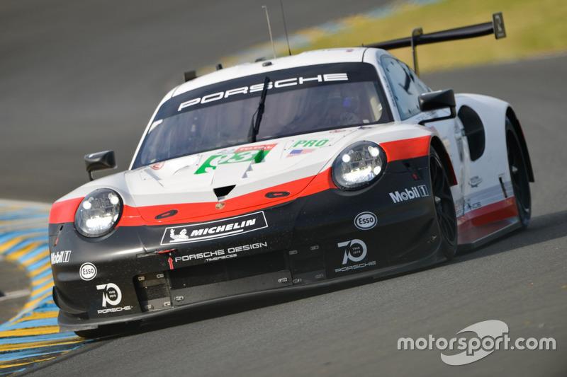 36. Патрик Пиле, Ник Тэнди, Эрл Бамбер, Дирк Вернер, Porsche GT Team, Porsche 911 RSR (№93)
