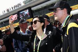 Fan Bingbing, Schauspielerin, zu Gast bei Renault Sport F1 Team
