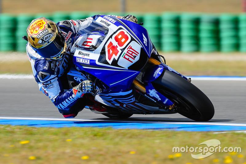 2008: MotoGP, 4º - Jorge Lorenzo - Yamaha