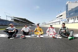 Thed Björk, Polestar Cyan Racing; Norbert Michelisz, Honda Racing Team JAS; Nicky Catsburg, LADA Spo