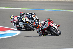 Leon Camier, MV Agusta, Markus Reiterberger, Althea BMW Team et Jordi Torres, Althea BMW Team
