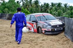 Rajeev Srivastava, crash