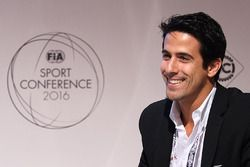 Lucas di Grassi at the FIA Sport Conference