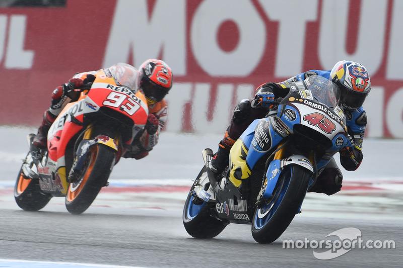 Jack Miller, Marc VDS Racing Honda e Marc Marquez, Repsol Honda Team