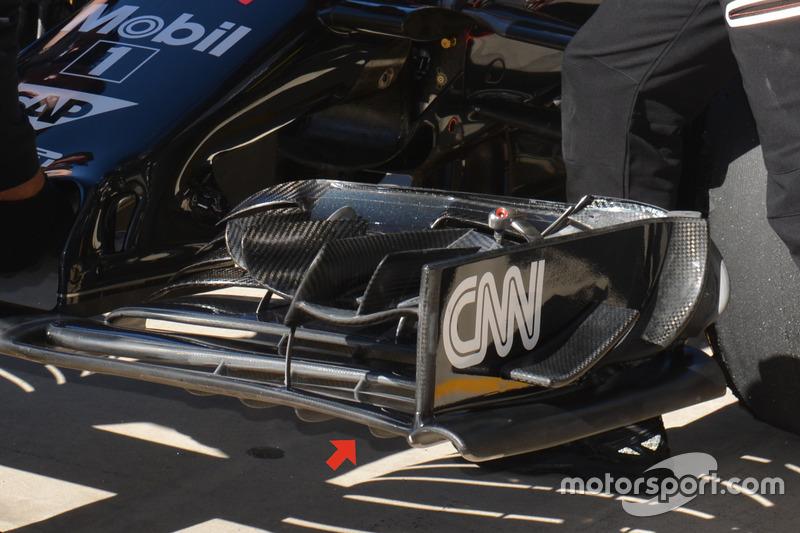 Aileron avant McLaren MP4-31