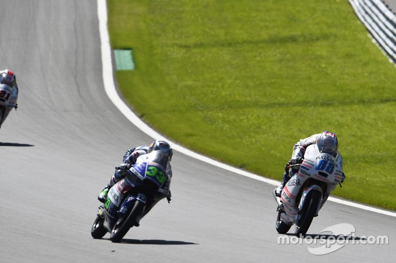 Jorge Martin, Aspar Team Mahindra, Mahindra; Enea Bastianini, Gresini Racing Moto3, Honda