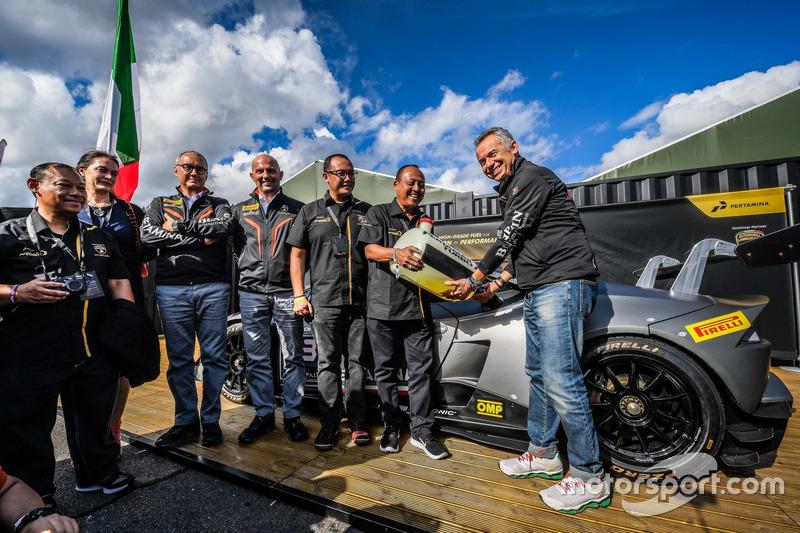 Lancio Pertamax Turbo, Maurizio Reggiani, Giorgio Sanna, Cristiano Inverni