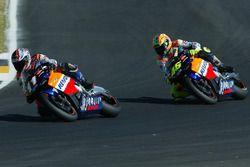 Tohru Ukawa, Repsol Honda Team; Valentino Rossi, Repsol Honda Team