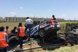 Debabrta Sarkar crash
