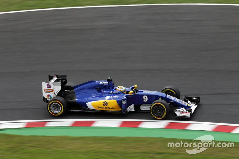 18: Marcus Ericsson, Sauber C35
