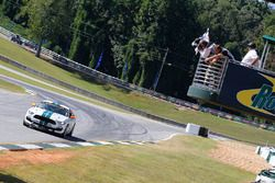 #15 Multimatic Motorsports Ford Shelby GT350R-C: Scott Maxwell, Billy Johnson takes the checkered fl