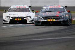 Maximilian Götz, Mercedes-AMG Team HWA, Mercedes-AMG C63 DTM en Martin Tomczyk, BMW Team Schnitzer,