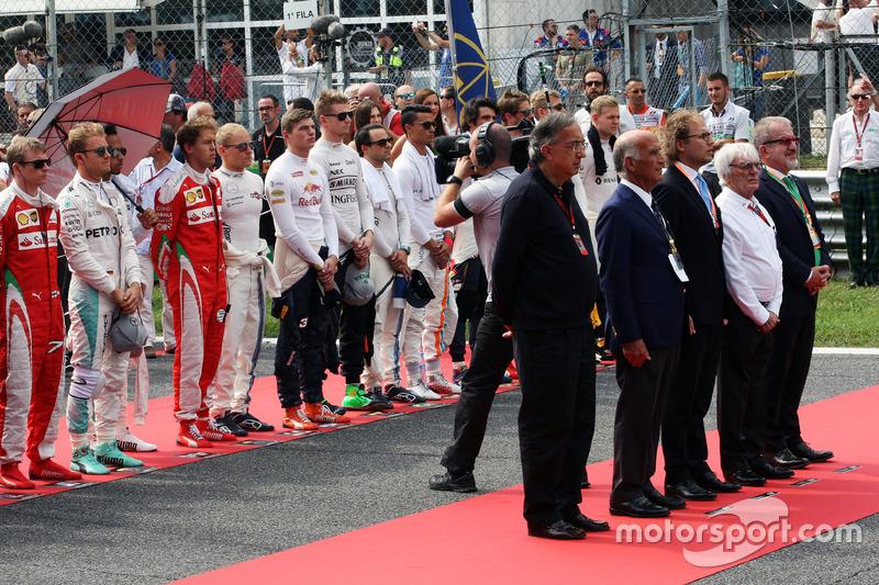 Sergio Marchionne, Ferrari Başlanı Fiat Chrysler Automobiles CEO'su; Dr. Angelo Sticchi Damiani, Ac