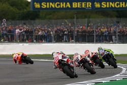 Valentino Rossi, Yamaha Factory Racing, Marc Márquez, Repsol Honda Team, Dani Pedrosa, Repsol Honda