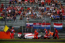 Sergey Sirotkin, ART Grand Prix retires