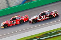 Michael Annett, HScott Motorsports Chevrolet, David Ragan, BK Racing Toyota