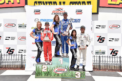 Podium: 1. Felix Serralles, Carlin; 2. Zach Veach, Belardi Auto Racing; 3. Ed Jones, Carlin