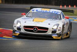 #50 Team Larbre Competition Mercedes-Benz SLS AMG GT3 : Christian Philippon, Franck Labescat
