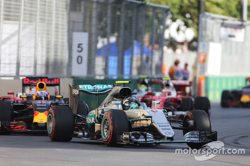 Nico Rosberg ganó en Bakú en su camino al título en 2016: