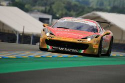 #50 Ineco - MP Racing Ferrari 458 Challenge Evo: David Gostner
