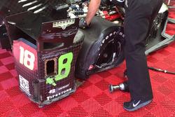 Conor Daly, Dale Coyne Racing Honda, gecrashte auto