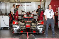 Dr. Wolfgang Ullrich with the #8 Audi Sport Team Joest Audi R18 e-tron quattro